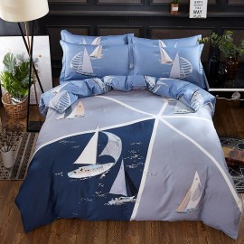 AIX Sailing Dream Navy Bed Linen (YGM17055)