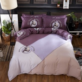AIX Best Jockey Maroon Bed Linen (YGM17056)