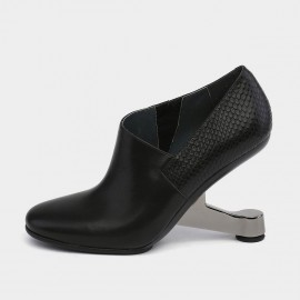 Jady Rose Creative Heel Black Pumps (18DR10585)