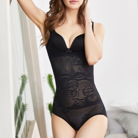 Olanfen Rose Black Shapewear (Q1001)