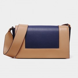 Cilela Double-Hue Blue Shoulder Bag (CK-001025)