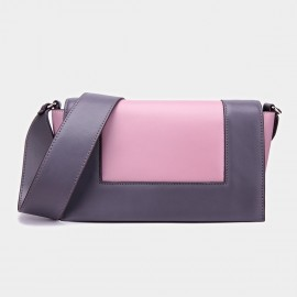 Cilela Double-Hue Pink Shoulder Bag (CK-001025)