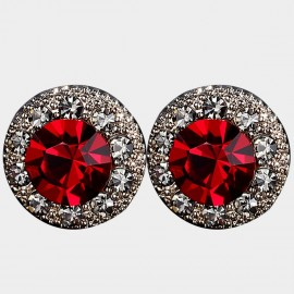 Caromay Lima Red Earrings (E4427)