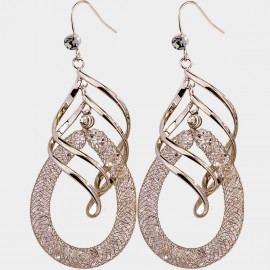 Caromay Tempete Coffee Earrings (E4476)