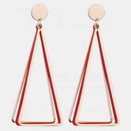 Caromay Ciao Bella Red Earrings (E4505)