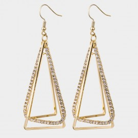 Caromay Ciao Bling Champagne-Gold Earrings (E4506)
