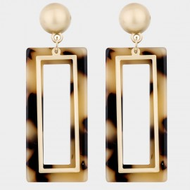 Caromay Return To Africa Champagne-Gold Earrings (E4574-2)