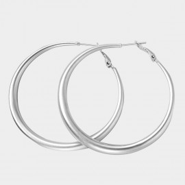 Caromay Halo Silver Earrings (E4644)