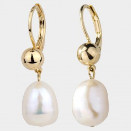Caromay Yesterday Champagne-Gold Earrings (E4701)