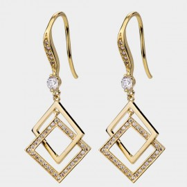 Caromay Second Chance Champagne-Gold Earrings (E4738)