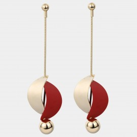 Caromay Forever Is Over Red Earrings (E4927)