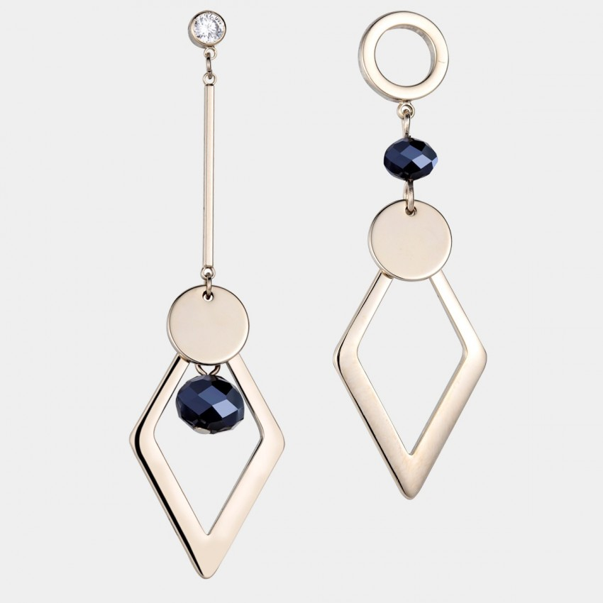 Caromay Upside Down Gold Earrings (E4954)