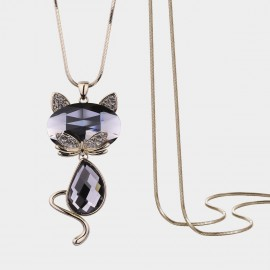Caromay Docile Cat Gold Long Chain (X2189)