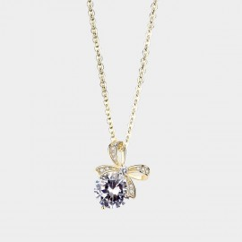 Caromay Special Gift Champagne-Gold Necklace (X2312)