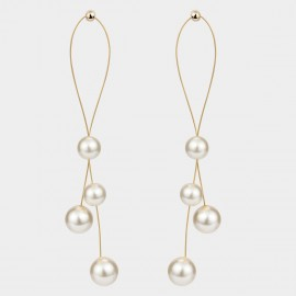 Caromay Shades Of White Earrings (E5074)