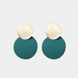 Caromay Attention Green Earrings (E4689)
