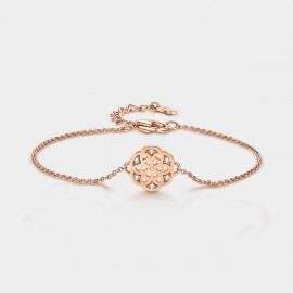 SEVENTY 6 Flower Of Life Rose Gold Bracelet (3976)