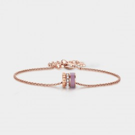 SEVENTY 6 Wheel Of Fortune Rose Gold Bracelet (3978)