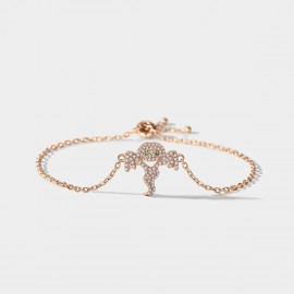 SEVENTY 6 Ghost Rose Gold Bracelet (3988)