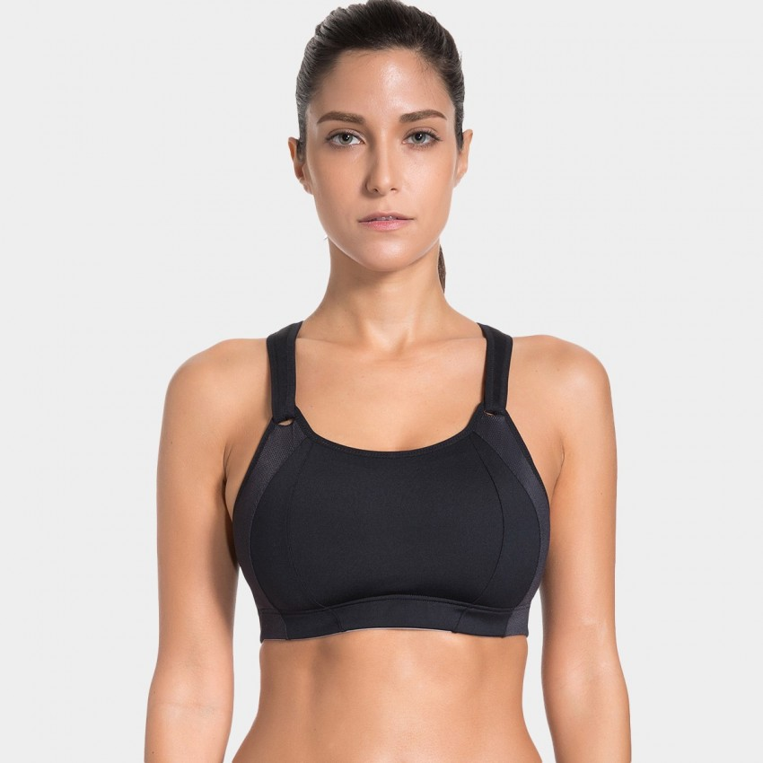 Syrokan Pleasant Black Bra (A251)