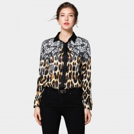 DZA Natural Leopard Shirt (1519)