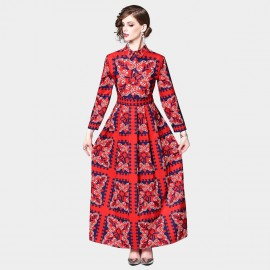 DZA Royal Red Dress (7582)