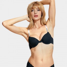 Dobreva Street Vibe Smooth Black Bra (F057)