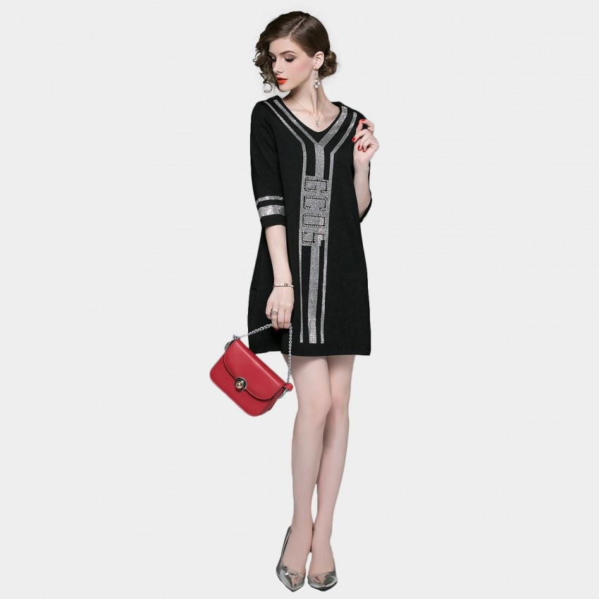 Buy ZOFS Cocktail Black Dress online, shop ZOFS with free shipping