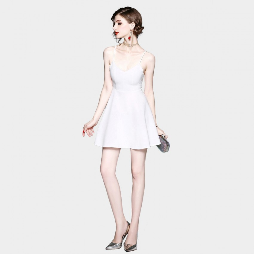 Buy ZOFS Angel Mini White Dress online, shop ZOFS with free shipping