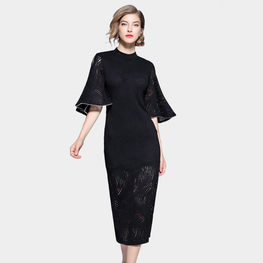 Buy ZOFS Cheongsam Black Dress online, shop ZOFS with free shipping