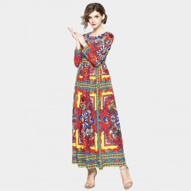 ZOFS Passionate Ethnic Red Dress (9068)