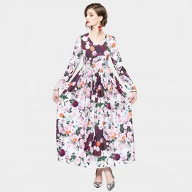 ZOFS Romantic Floral Dress (9691)