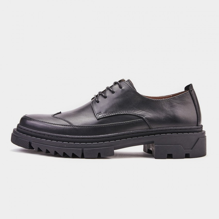 Herilios Breathable Oxford Black Lace Up (H9105D61)