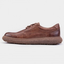 Herilios Wingtip Calf Leather Brown Lace-Up (H8305D46)