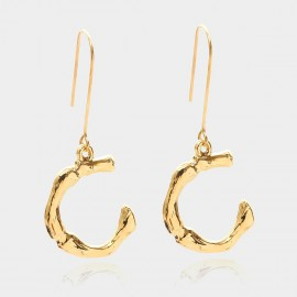 Coen C Bony C Gold Earrings (B01294KC)