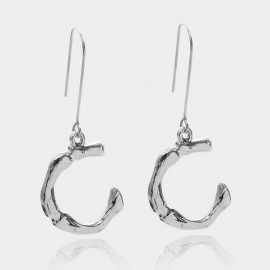 Coen C Bony C Silver Earrings (B01294KC)