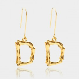 Coen C Bony D Gold Earrings (B01294KD)