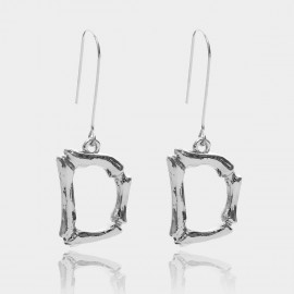 Coen C Bony D Silver Earrings (B01294KD)