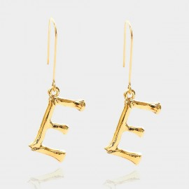 Coen C Bony E Gold Earrings (B01294KE)