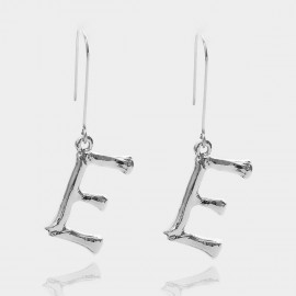 Coen C Bony E Silver Earrings (B01294KE)