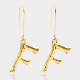 Coen C Bony F Gold Earrings (B01294KF)