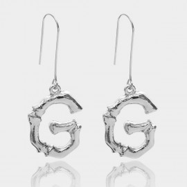 Coen C Bony G Silver Earrings (B01294KG)