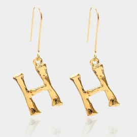 Coen C Bony H Gold Earrings (B01294KH)