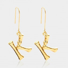 Coen C Bony K Gold Earrings (B01294KK)