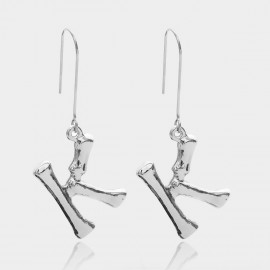 Coen C Bony K Silver Earrings (B01294KK)