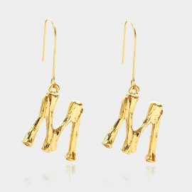 Coen C Bony M Gold Earrings (B01294KM)