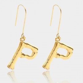 Coen C Bony P Gold Earrings (B01294KP)