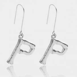 Coen C Bony P Silver Earrings (B01294KP)