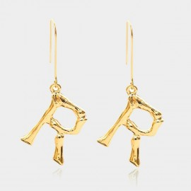 Coen C Bony R Gold Earrings (B01294KR)