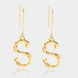 Coen C Bony S Gold Earrings (B01294KS)